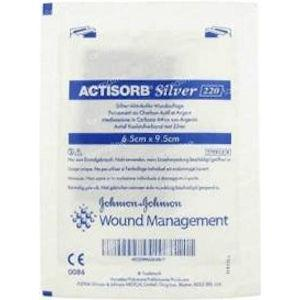Actisorb Silver Dressing 9.5cm x 6.5cm