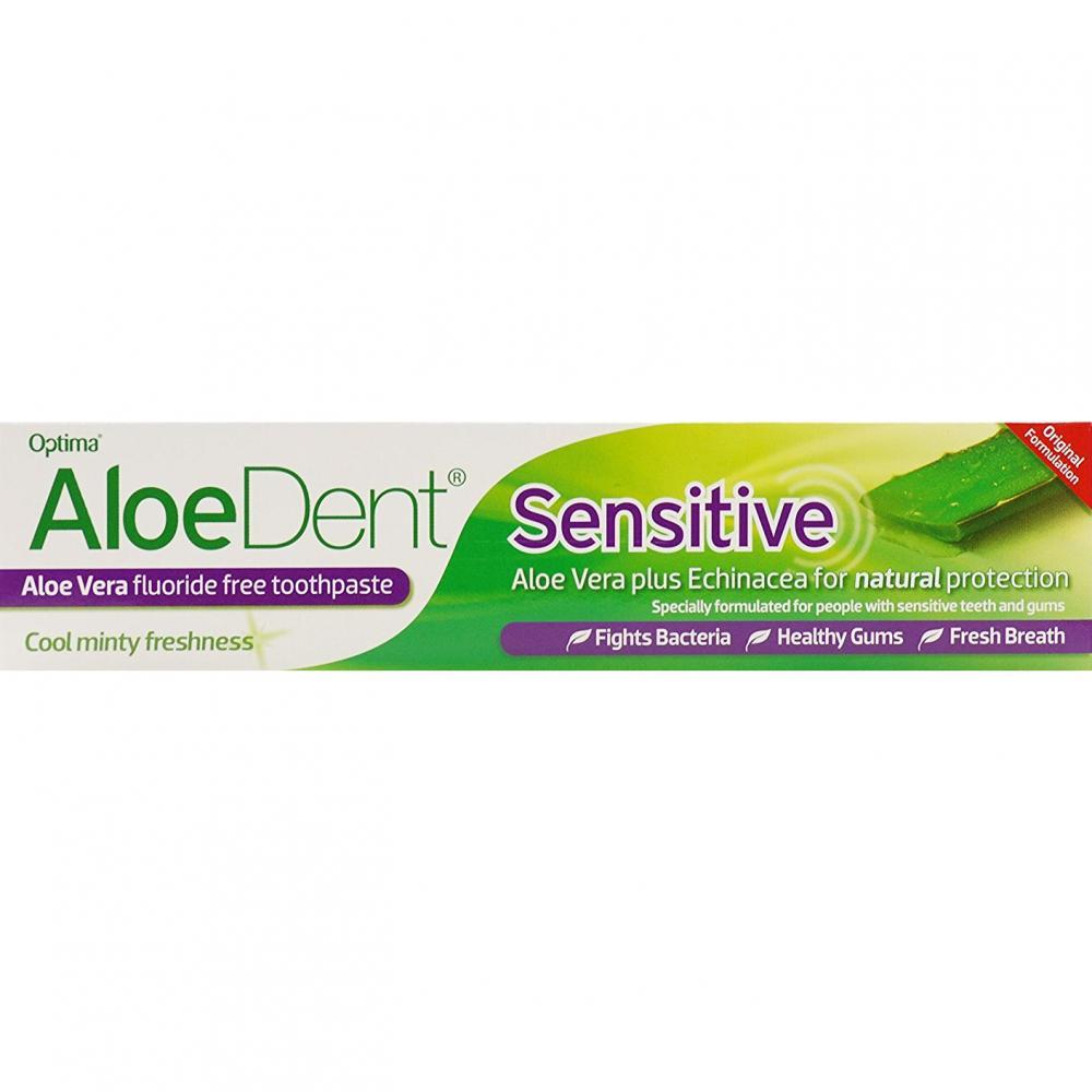 Aloe Dent Non Fluoride Sensitive Toothpaste Mint 100ml