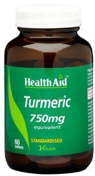 HealthAid Turmeric 750mg Tablets Pack of 60