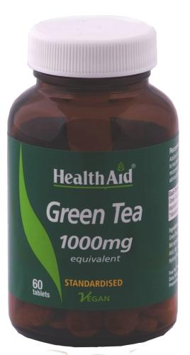 HealthAid Green Tea 1000mg Pack of 60