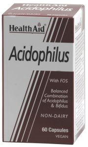 HealthAid Acidophilus Vegicaps Pack of 60