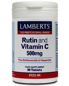 Lamberts Rutin + Vitamin C + Bioflavonoids Tablets Pack of 90