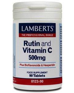 Lamberts Rutin + Vitamin C + Bioflavonoids Tablets Pack of 90