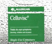 Celluvisc Dry Eye Preparation 1% (0.4ml) Pack of 30