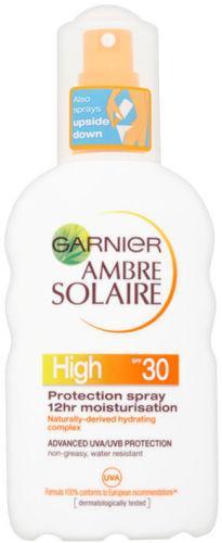 Garnier Ambre Solaire Moisturising Protection Spray SPF30 200ml