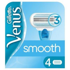 Gillette Venus Smooth Razor Blades Pack of 4
