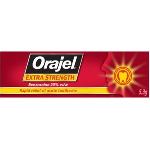 Orajel Extra Strength Dental Gel 5.3g