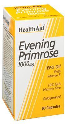 HealthAid Evening Primrose Oil 1000mg Capsules Pack of 60