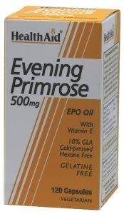 HealthAid Evening Primrose Oil 500mg Capsules Pack of 120