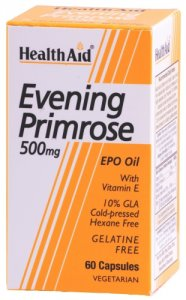 HealthAid Evening Primrose Oil 500mg Capsules Pack of 60