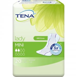 TENA Lady Mini Pack of 20 x 10