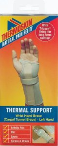 Thermoskin Beige Carpal Tunnel Brace Left Small