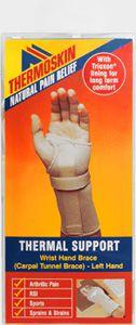 Thermoskin Beige Carpal Tunnel Brace Left Medium