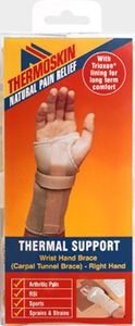 Thermoskin Beige Carpal Tunnel Brace Right Large