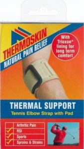 Thermoskin Beige Tennis Elbow Strap with Pad Large