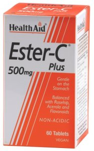 HealthAid Ester C Plus 500mg Tablets Pack of 60