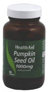 HealthAid Pumpkin Seed Oil 1000mg Capsules Pack of 60