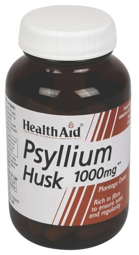HealthAid Psyllium Husk 1000mg Vegicaps Pack of 60