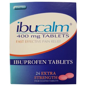 Ibuprofen 400mg Tablets Pack of 24