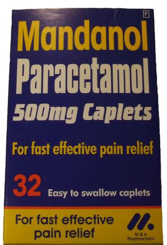 Mandanol Paracetamol Caplets Pack of 32