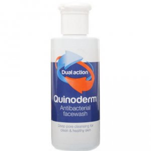 Quinoderm Antibacterial Face Wash 150ml Pack of 3