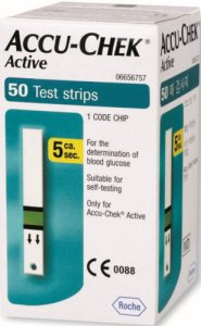 Accu Chek Active Test Strips Pack of 50