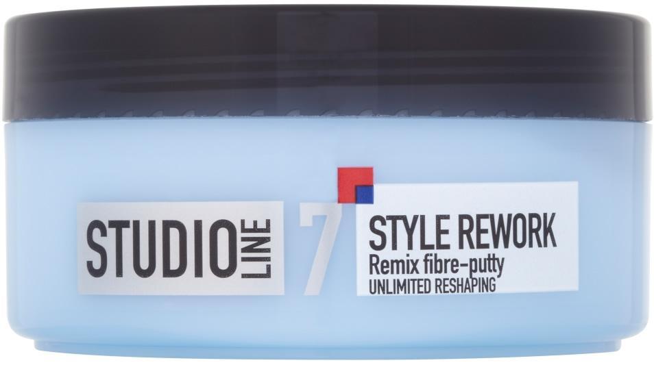L'Oreal Studio Line 7 Style Rework Remix Fibre Putty 150ml