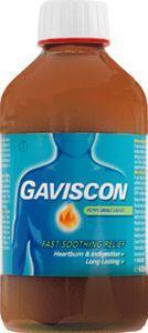 Gaviscon Liquid Peppermint 600ml (SODIUM BICARBONATE - 133.75mg/5)