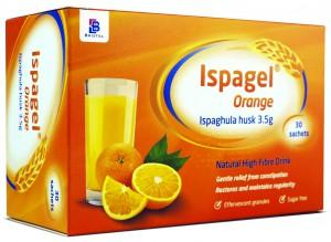 Ispagel Orange Ispaghula Husk Pack of 30