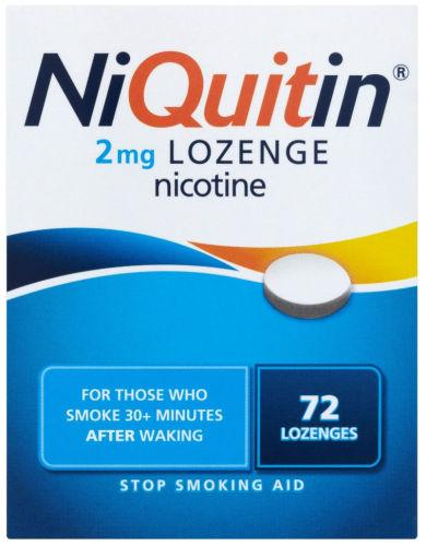 Niquitin 2mg Lozenges Original Pack of 72
