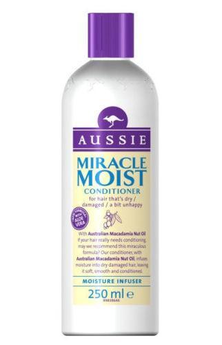 Aussie Miracle Moist Conditioner 250ml