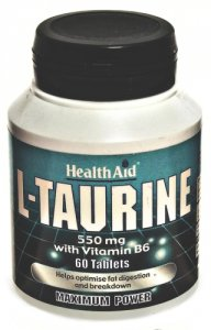 HealthAid L-Taurine 550mg Tablets Pack of 60