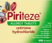 Piriteze Allergy Tablets Pack of 30