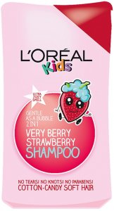 L'Oreal Kids Extra Gentle 2 in 1 Very Berry Strawberry Shampoo 250ml