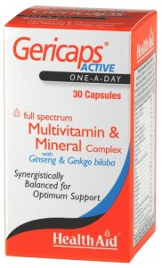 HealthAid Gericaps Active Capsules Pack of 30