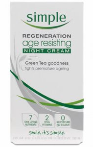 Simple Regeneration Age Resisting Night Cream 50ml