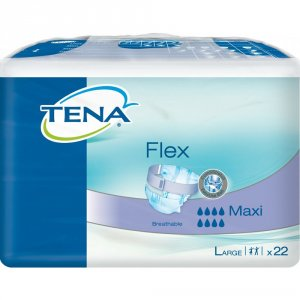 TENA Flex Maxi Large Pack of 22 x 3