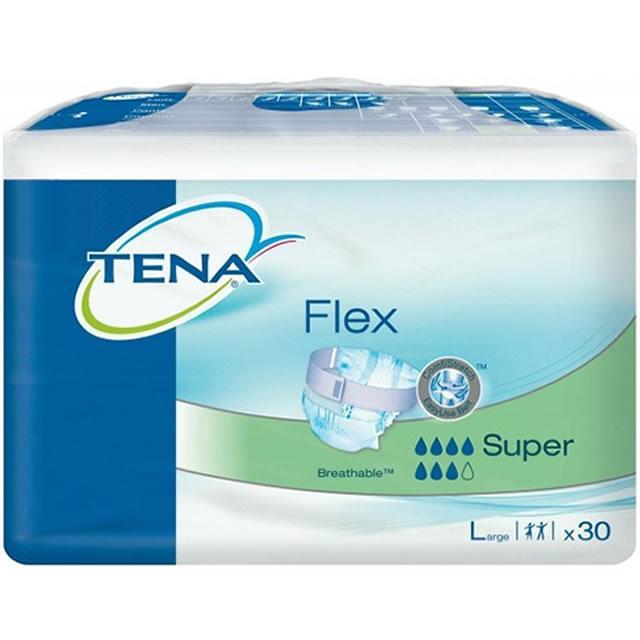 TENA Flex Super Large Pack of 30