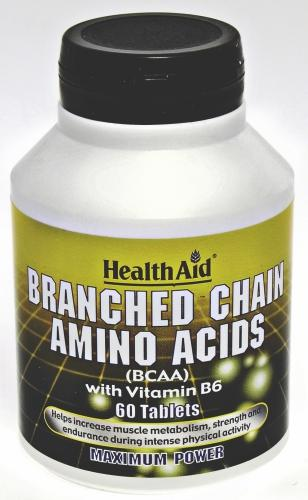 HealthAid Branched Chain Amino Acid Tablets Pack of 60