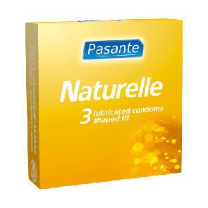 Pasante Naturelle Condoms Pack of 3