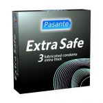 Pasante Extra Safe Condoms Pack of 3