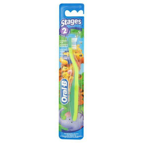 Oral B Stages 2 Winnie The Pooh Toothbrush