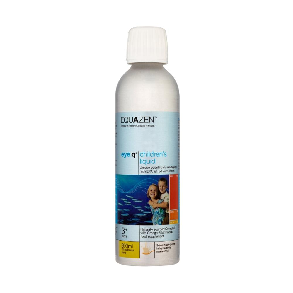 Equazen Eye Q Childrens Liquid Citrus 200ml
