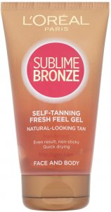 L'Oreal Sublime Self Tan Face and Body Gel 150ml