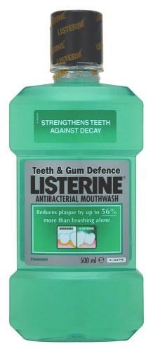 Listerine Teeth & Gum Defence 500ml