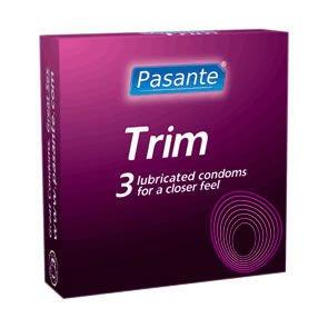 Pasante Trim Condoms Pack of 3