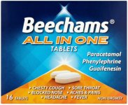 Beechams All-in-one Tablets Non-drowsy Pack of 16