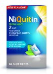 Niquitin 2mg Chewing Gum Freshmint Pack of 96