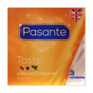 Pasante Taste Condoms Pack of 3
