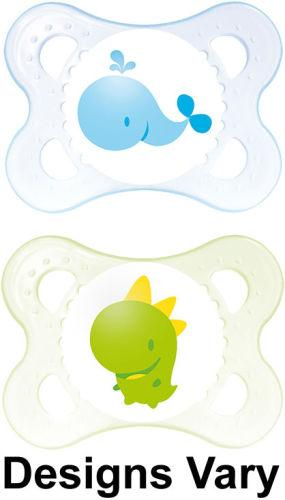 Mam Original Soother 0+m Boy Pack of 2